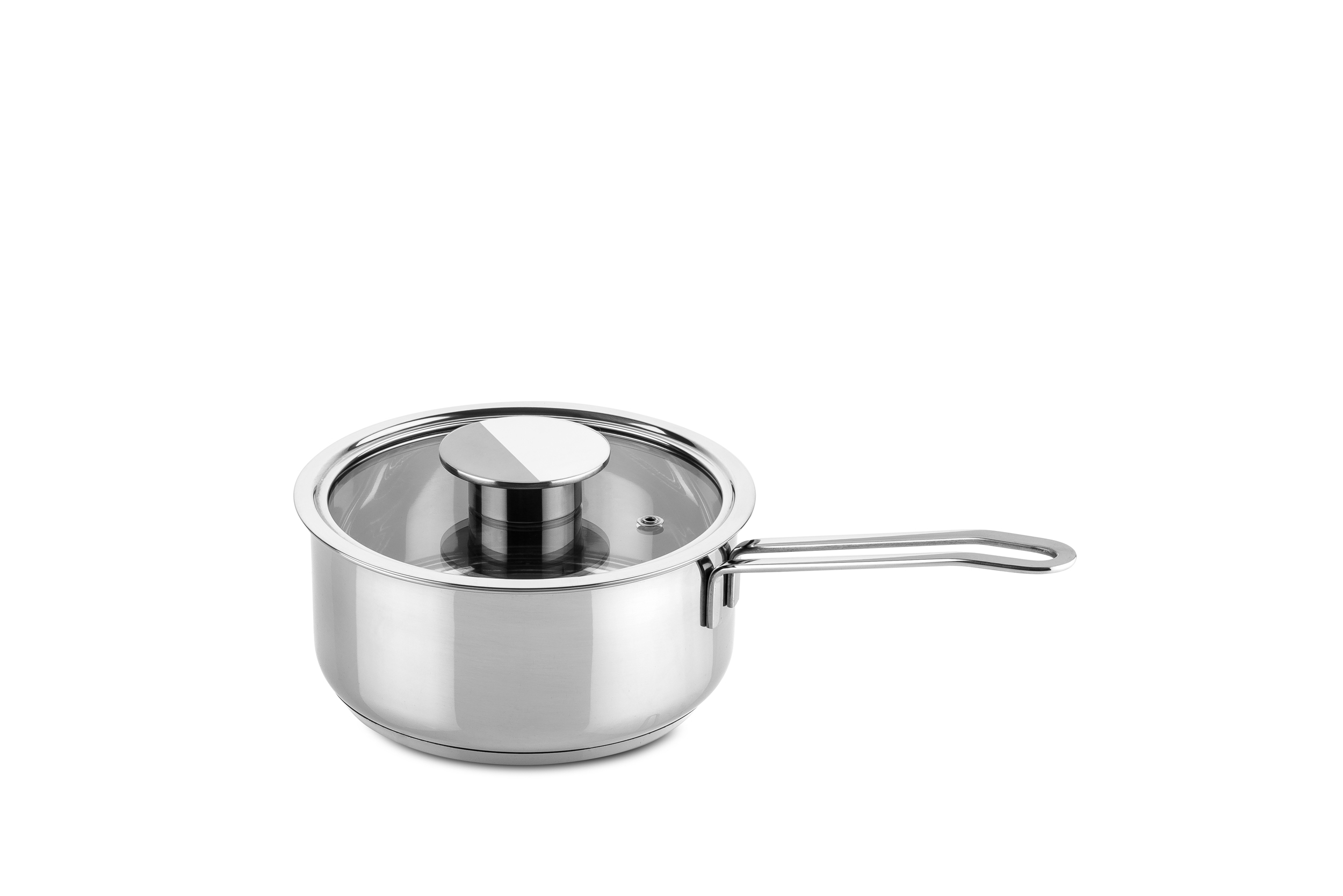 Deep Casserole 1 Handle W/Glass Lid