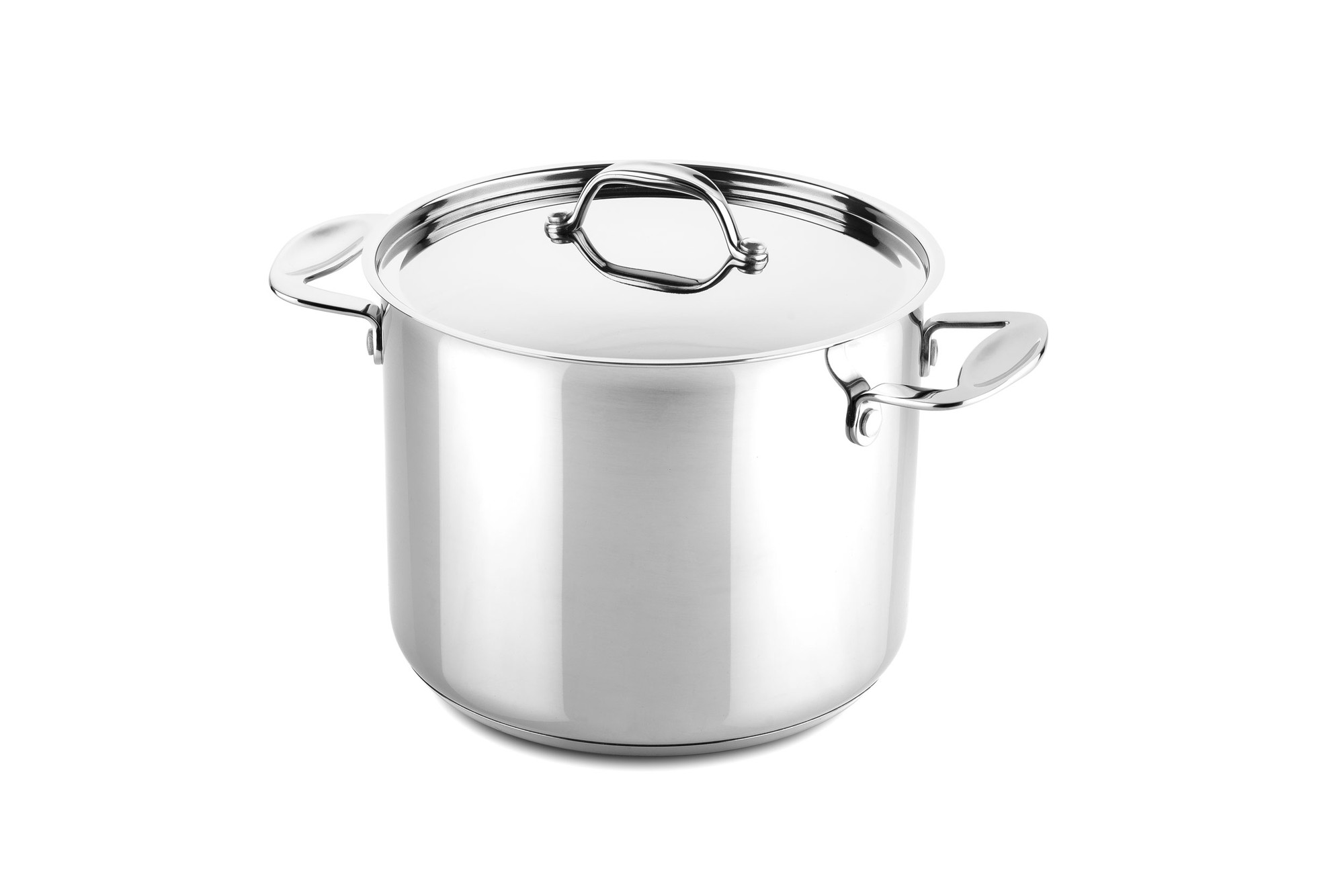 Deep pot 22 cm Glamour Stone Stainless Steel