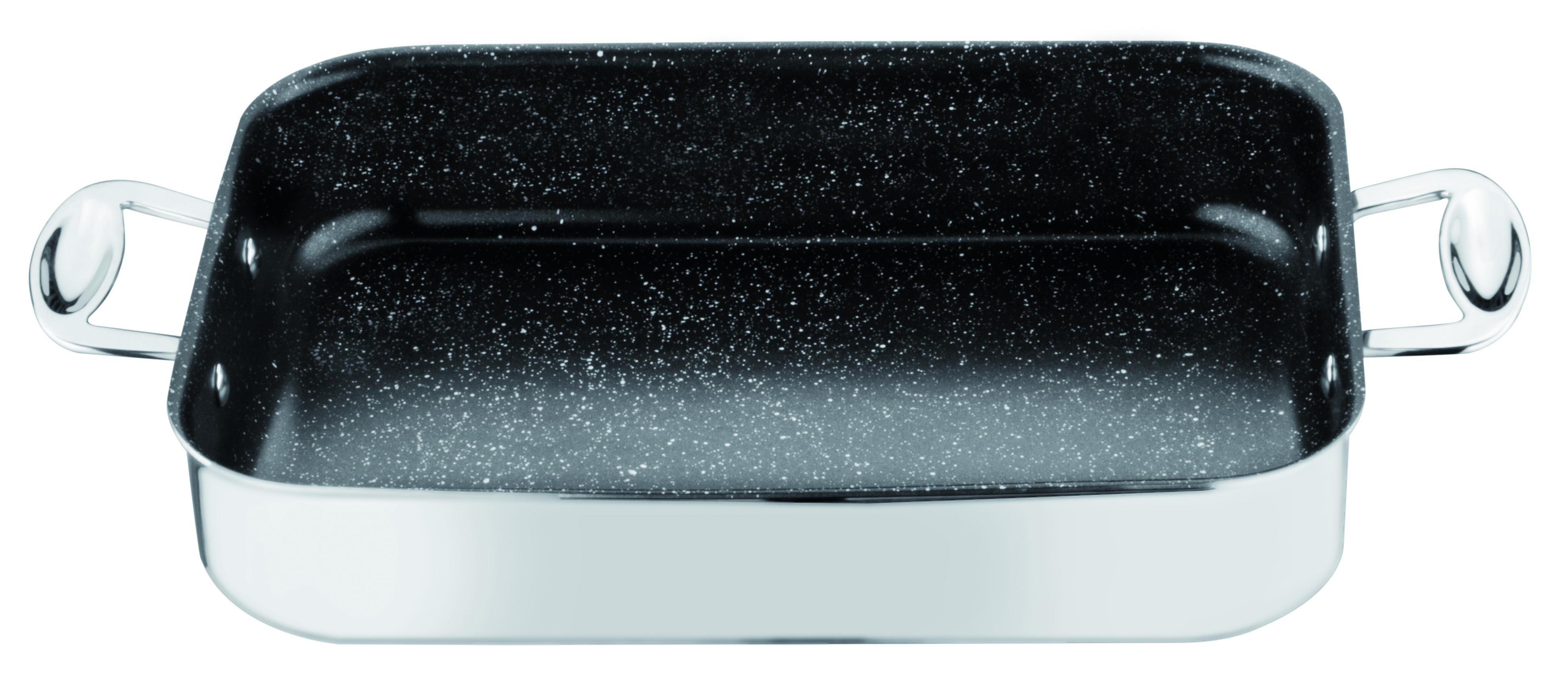Rectangular Lasagne Bowl Glamour Stone Cm. 35X25