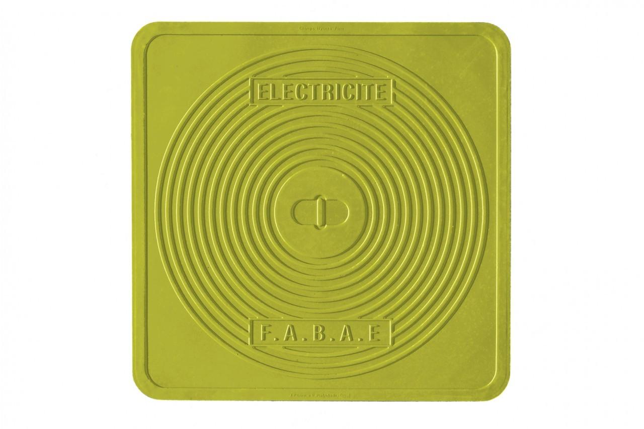 Streetcover parijs 45x45 cm groen mepra - Huis placemat wereld ...