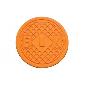 Streetcover 'Amsterdam' rond 12,5 cm - Oranje