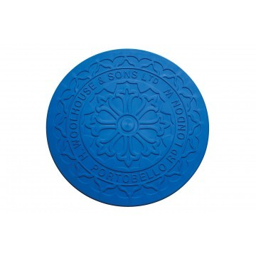 Streetcover 'Londen' rond 35 cm - Blauw