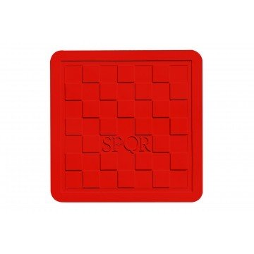 Streetcover 'Rome' 45x45 cm - Rood