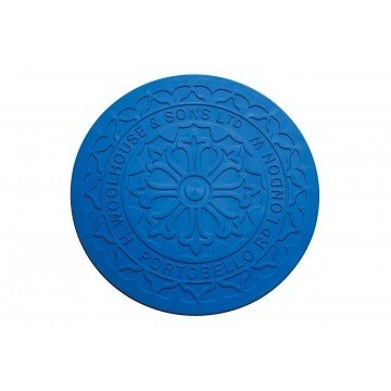 Streetcover 'Londen' rond 17 cm - Blauw