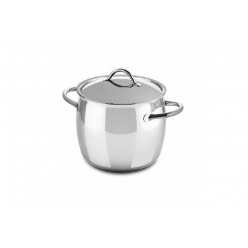 Deep Pot Cm 20 1950 with lid