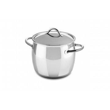 Deep Pot Cm 22 1950 with lid