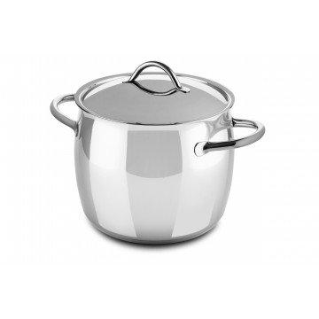Deep Pot Cm 28 1950 with lid
