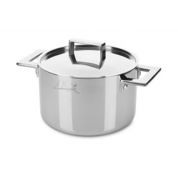 Deep pot CM 24 Attiva with lid