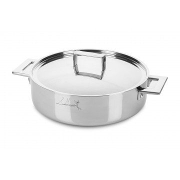 Friyng Pan Cm 28 Attiva with lid