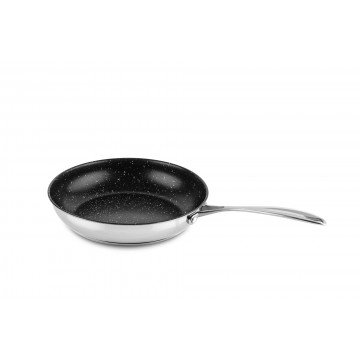 Frying pan 24 cm with non-stick coating Glamour Stone