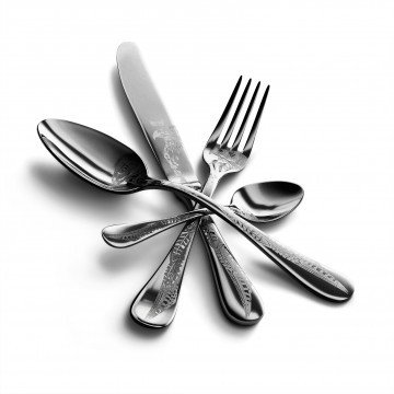 24 pcs set Caccia Stainless Steel