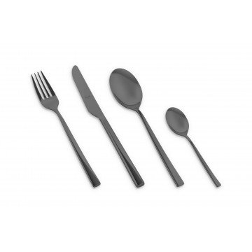 Cutlery Set 24 Pcs Firenze Oro Nero