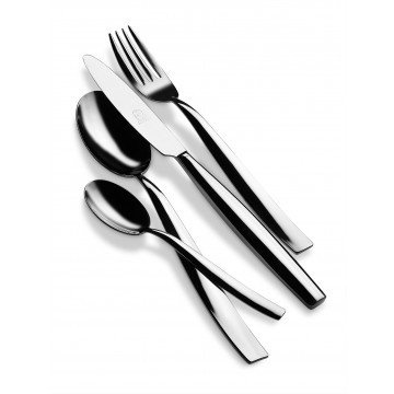 24 pcs set Mediterranea Stainless Steel