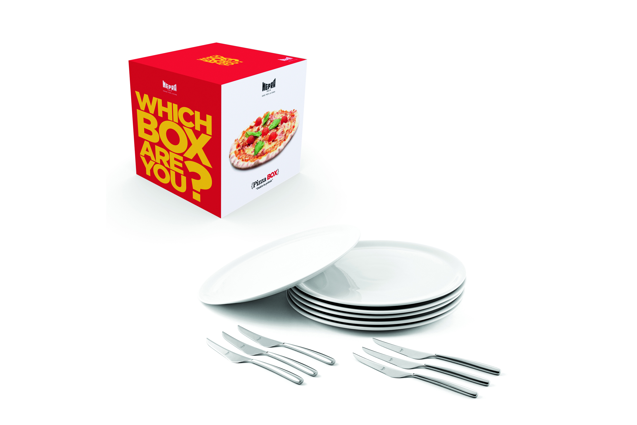 Pizza Box 13 Pcs Table Pizza Set