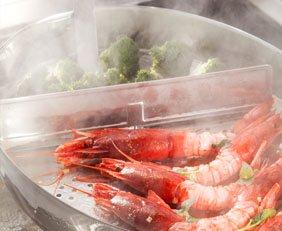 vegetarian box inclusief roestvrijstalen stoompan
